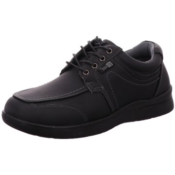 Hengst Footwear Komfort Schnürschuh schwarz