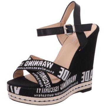 Shoeplanet Sandalette schwarz