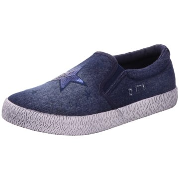 D.T. New York Slipper blau