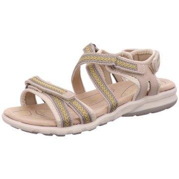 Topway Bequeme Sandalen beige