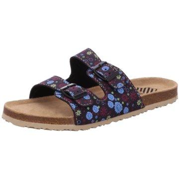 Bio Walker Offene Schuhe schwarz