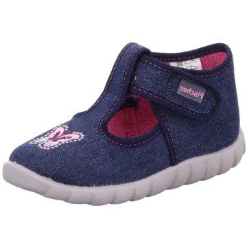 Fischer Schuhe Kleinkinder MädchenSchmetterling blau