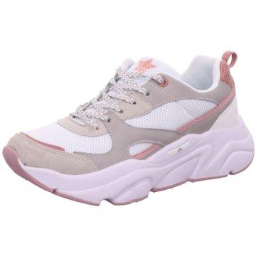 Lico Plateau Sneaker grau