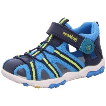 Be Mega Sandale blau