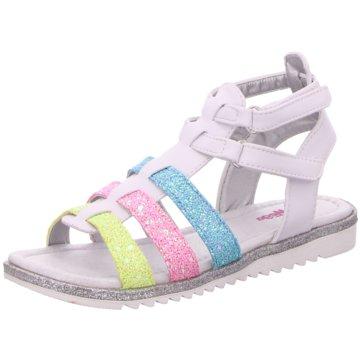 Be Mega Offene Schuhe weiß