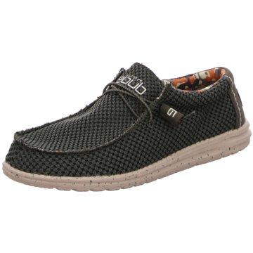 Hey Dude Shoes Mokassin SchnürschuhWally Sox grün