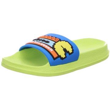 Slobby Offene Schuhe grün