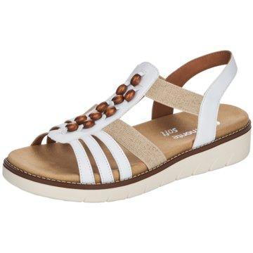 Remonte Komfort Sandale weiß