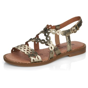 Remonte Komfort Sandale gold