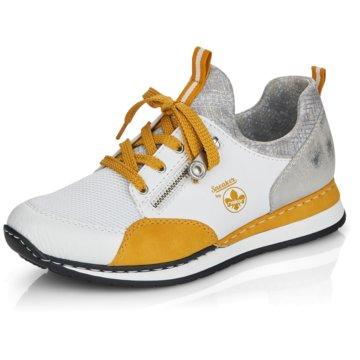 Rieker Komfort SchnürschuhSneaker weiß