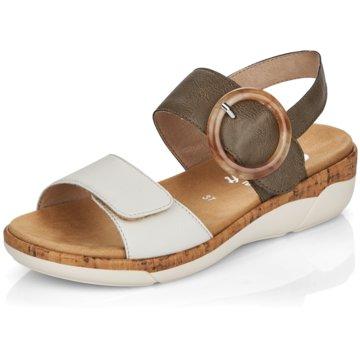 Remonte Komfort Sandale grün