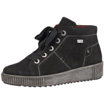 Remonte Sneaker High schwarz