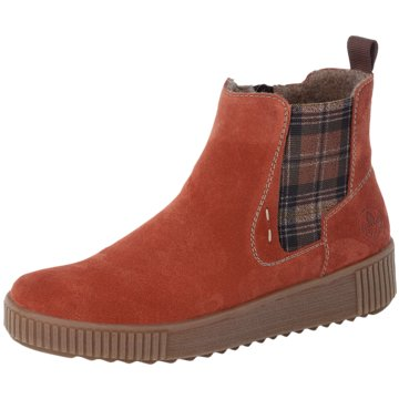 Rieker Komfort StiefeletteChelsea Boots rot