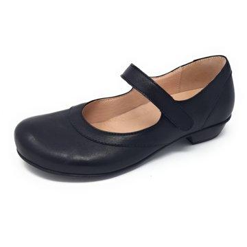 Brako Komfort Slipper schwarz