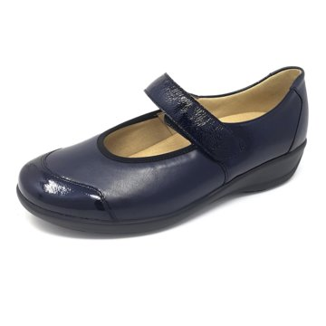 Goldkrone Komfort Slipper blau