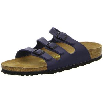 Birkenstock Klassische PantoletteFlorida blau