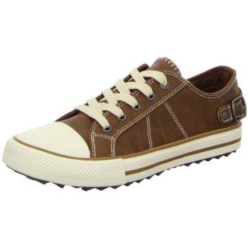 Supremo Sneaker Low braun