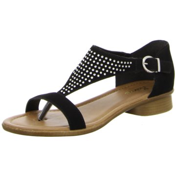 Rieker Offene Schuhe schwarz