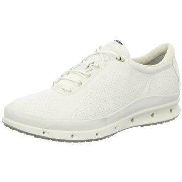 Ecco Sportlicher SchnürschuhSneaker weiß