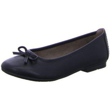 Soft Line Klassischer Ballerina schwarz