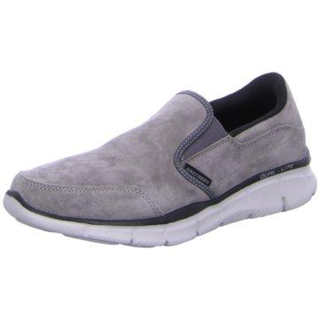 Skechers Komfort Slipper grau