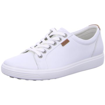 Ecco Sneaker LowSoft VII Ladies weiß