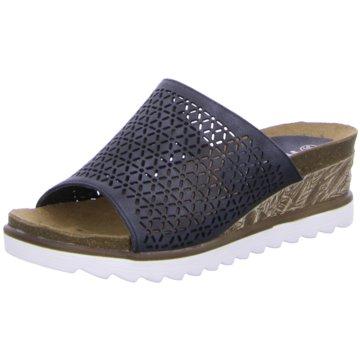 Hengst Footwear Keilpantolette schwarz