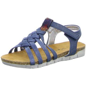 Pep Step Offene Schuhe blau