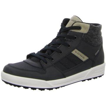 LOWA Sneaker High schwarz