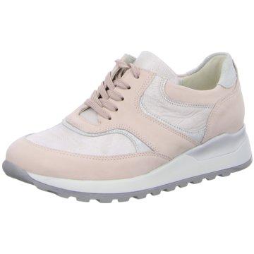 Waldläufer Sportlicher Schnürschuh rosa