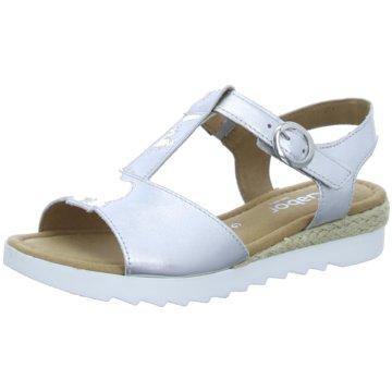 Gabor comfort Sandale silber