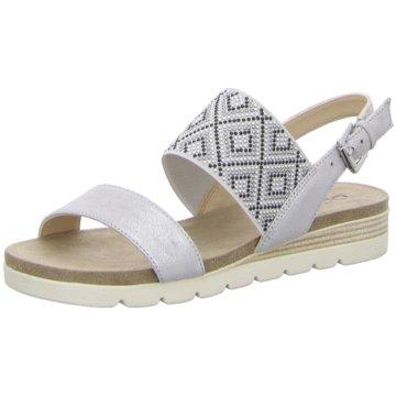 Caprice Top Trends Sandaletten silber