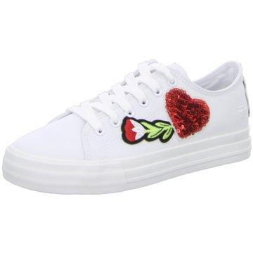 Tamaris Top Trends Sneaker weiß