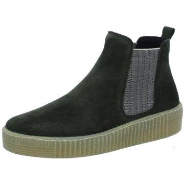 Gabor Chelsea BootChelsea-Bootie grün