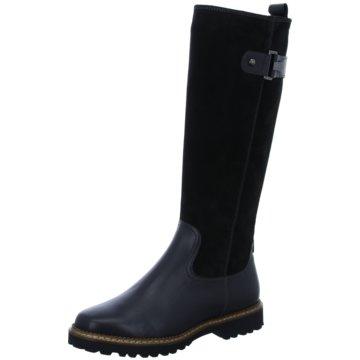 Sioux Klassischer Stiefel schwarz