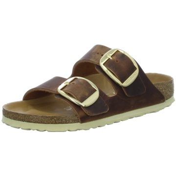 Birkenstock Klassische PantoletteArizona Big Buckle[Sandals] braun