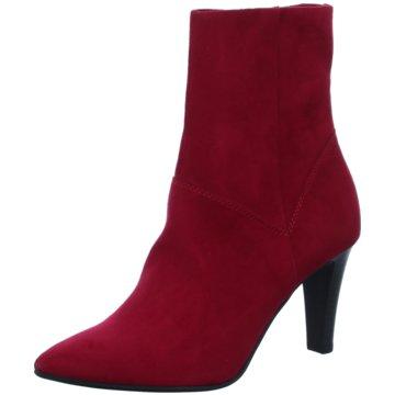 Tamaris Klassische Stiefelette rot