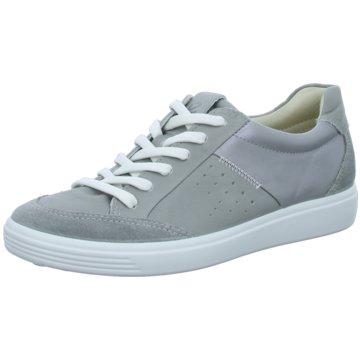 Ecco Sportlicher Schnürschuh grau