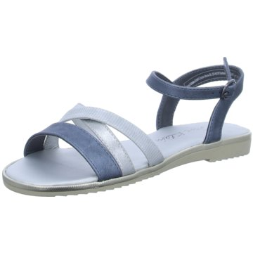 Jane Klain Sandale blau