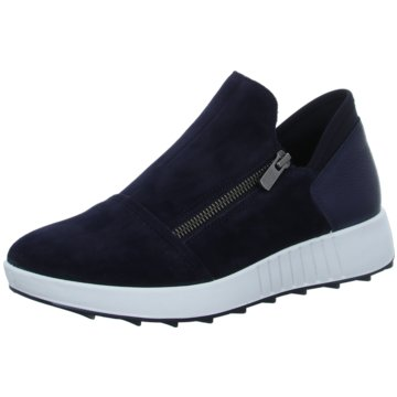 Legero Plateau Slipper blau