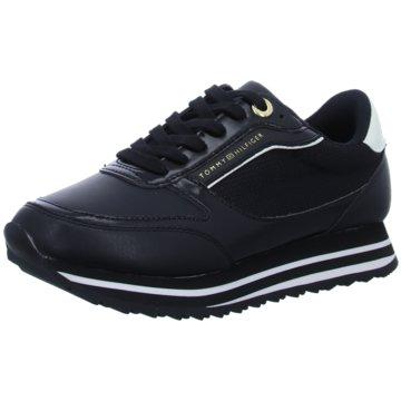 Tommy Hilfiger Plateau Sneaker schwarz