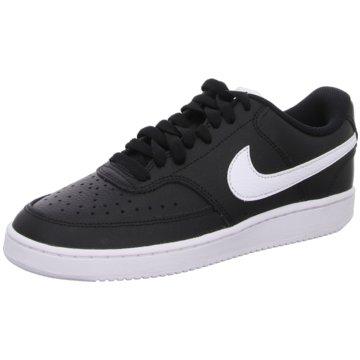 Nike Sneaker LowCourt Vision Low schwarz