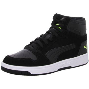 Puma Sneaker HighRebound Layup SD schwarz