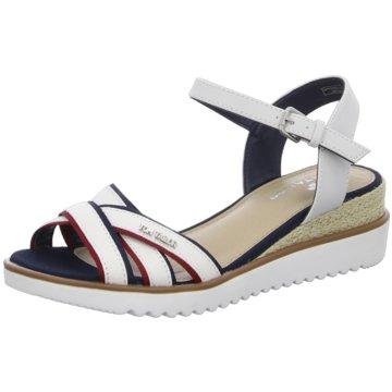 Tom Tailor Komfort Sandale weiß