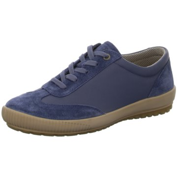Legero Komfort Schnürschuh blau
