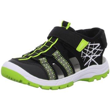 Superfit Offene Schuhe schwarz