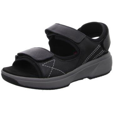 Xsensible Bequeme Sandalen schwarz