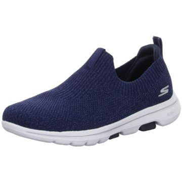 Skechers Sportlicher Slipper blau