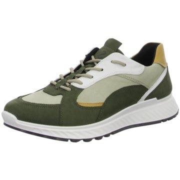 Ecco Sportlicher Schnürschuh grün