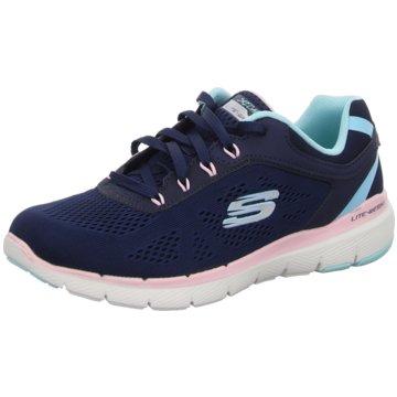 Skechers Sportlicher Schnürschuh blau